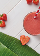 Strawberry Split, Tasty and sweet - A luscious mix of strawberries and banana– a Love Smoothies classic