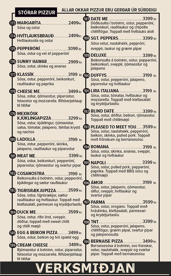 Stórar Pizzur menu.png