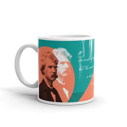 Mark Twain Wisdom Mug