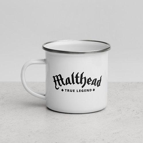 Malthead – Enamel Mug