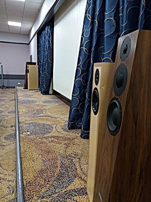 3 Square Audio Translator Loudspeaker FRMS annual meeting