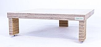 birch plywood rack, hi fi support, hi fi rack, plywood rack