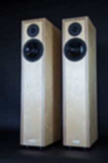 Time and phase coherent, 1st order crossover, Hi end hi fi, audiophile, loudspeakers, birch plywood,