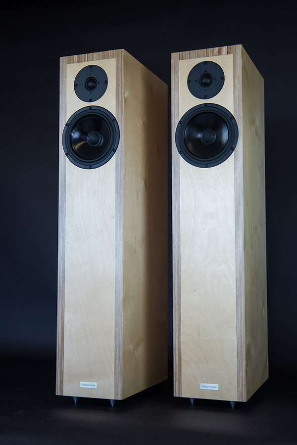Translator Hi Fi Critic, pinterest speakers, 1st order speakers, time phase coherent speakers, baltic birch ply speakers,