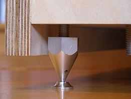 Bespoke M10 aluminium spikes