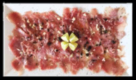 Carpaccio de Atum - GOTOPEMBA - R&D