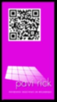 PAVI_RICK QR_CODE VCARD