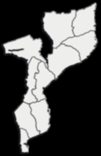 MAPA DE MOÇAMBIQUE - GOTOPEMBA