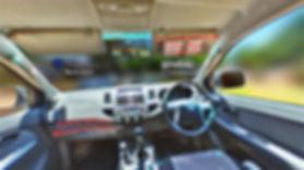 Fotografia a 360 do interior dos carros de aluguer - GOTOPEMBA - R&D
