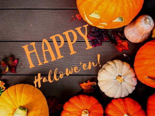 A very Happy Hallowe'en 2018 from Legally Brunette!