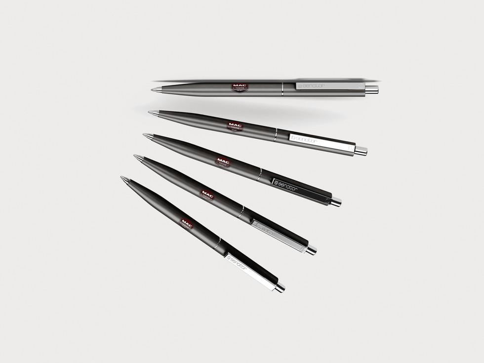 Mac Towing branded pens