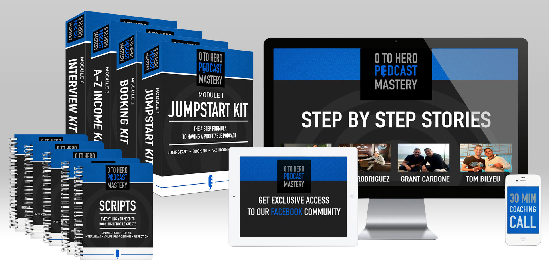 Course kit package design