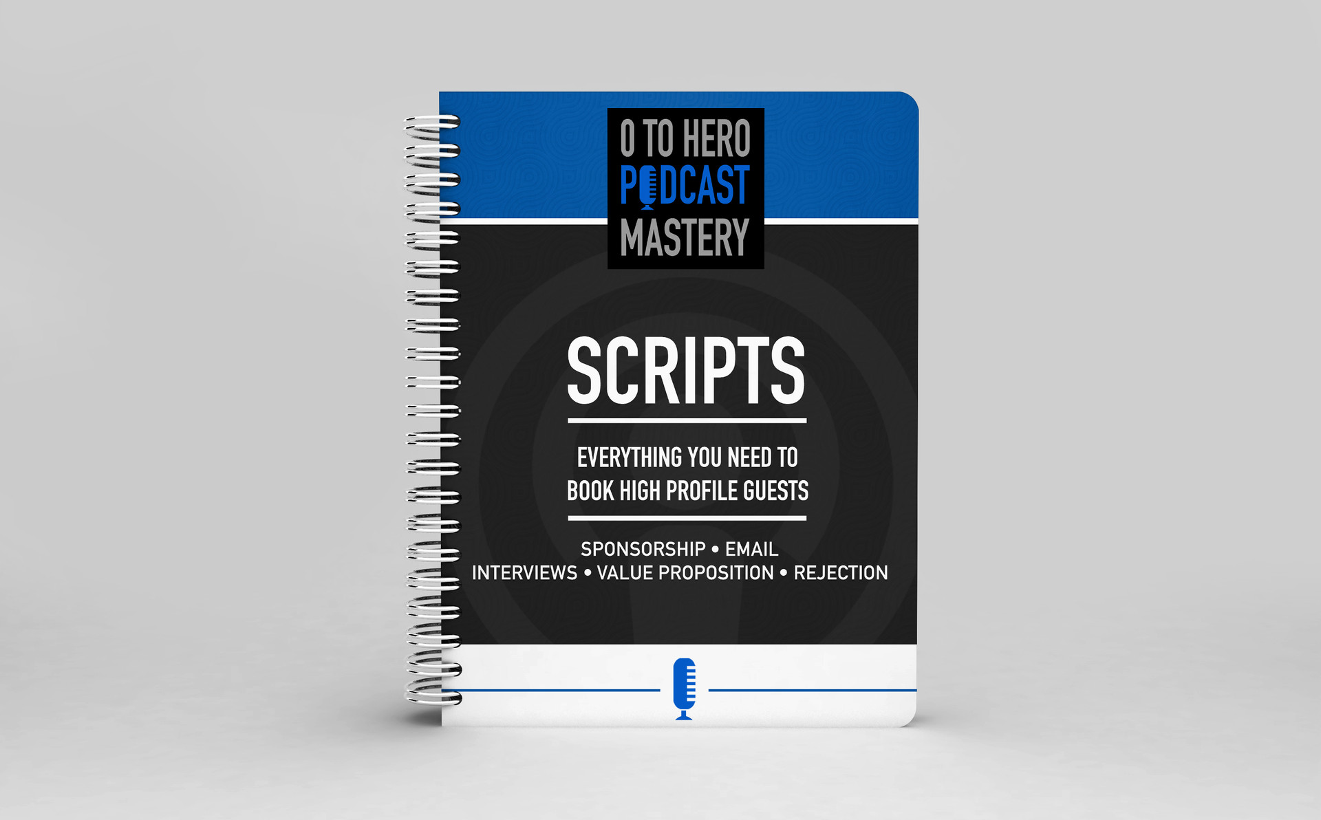 Course notebook design