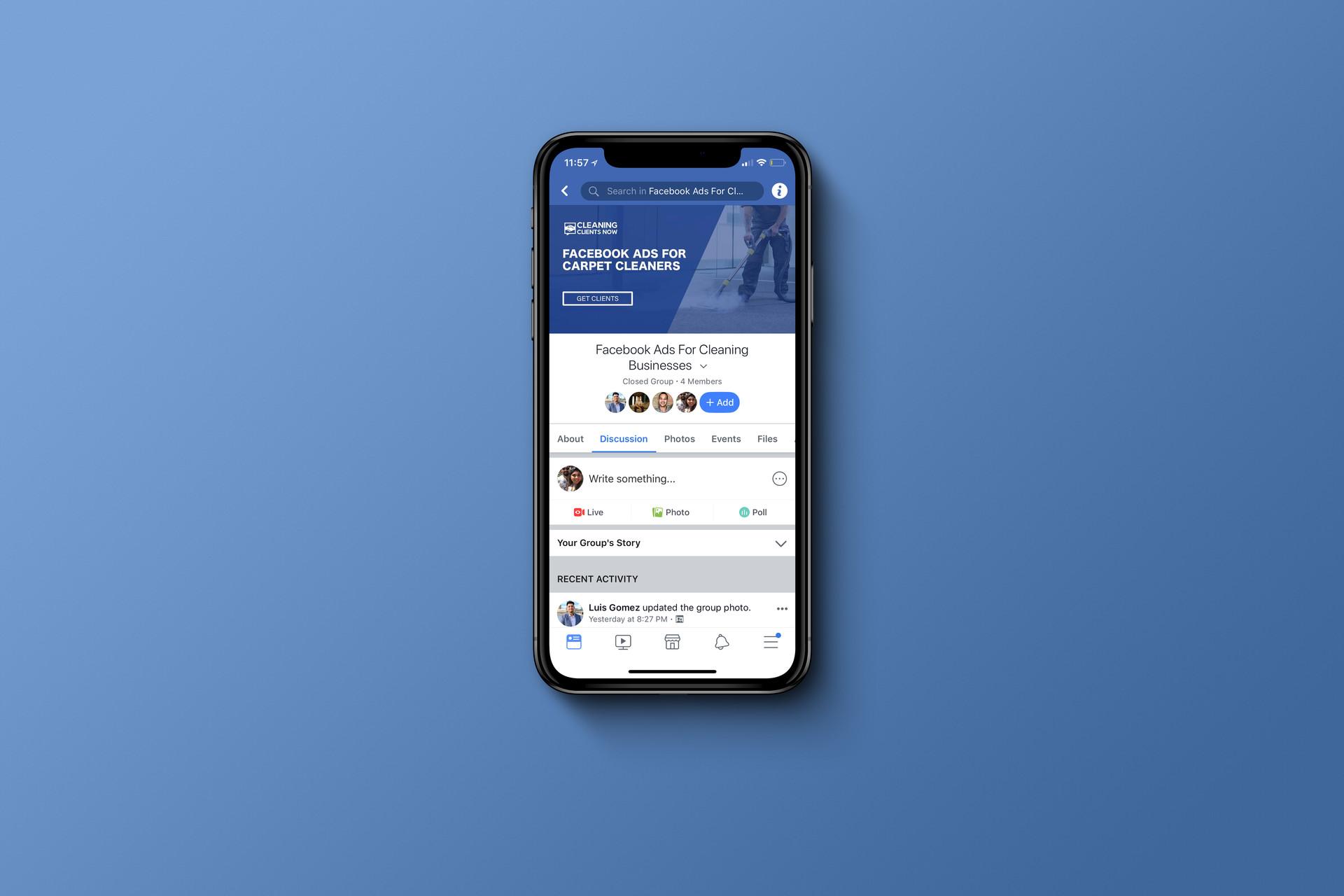 Facebook cover design mobile optimized