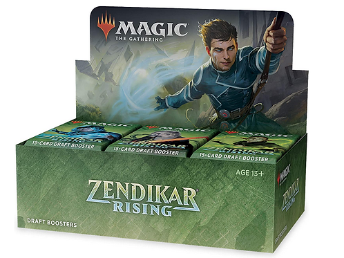 Magic the Gathering TCG: Zendikar Rising Draft Booster Box