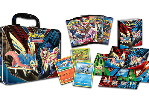 Pokemon TCG: Collectors Chest Tin, Spring 2020   5 Booster Packs   3 Foil Promo