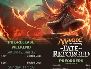 Fate Reforged Pre-Release