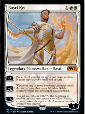 Magic the Gathering TCG: Core Set 2021 Planeswalker Deck - Basri