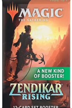 Magic the Gathering TCG: Zendikar Rising Set Booster packs
