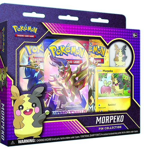 Pokemon TCG: Morpeko Pin Collection