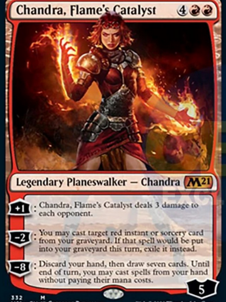 Magic the Gathering TCG: Core Set 2021 Planeswalker Deck - Chandra