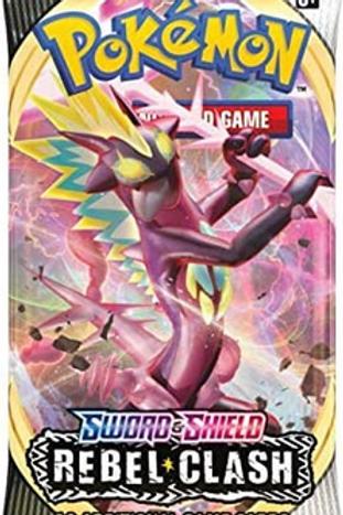 Pokemon TCG: Sword & Shield-Rebel Clash Booster Pack