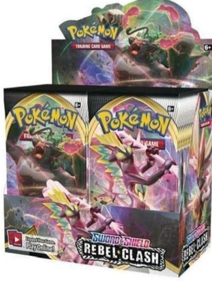 Pokemon TCG: Sword & Shield-Rebel Clash Booster Box