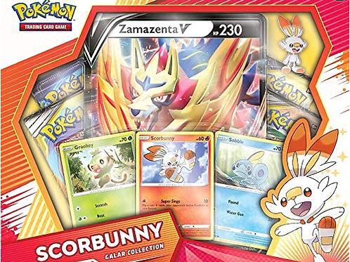 Pokemon TCG: Zamazenta V Scorbunny Galar Collection