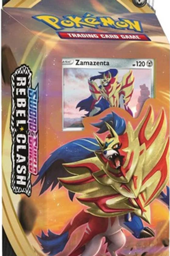 Pokemon TCG: Sword & Shield-Rebel Clash Zamazenta Intro Deck