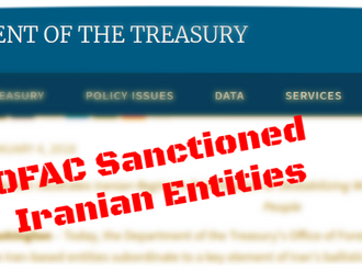 OFAC Sanctioned Iranian Entities