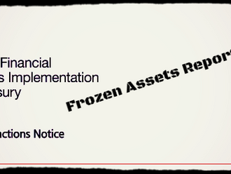 Annual Frozen Assets updates by HM Treasury