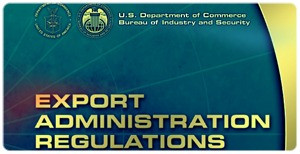 Final Rule for Export Administration Regulations (EAR)