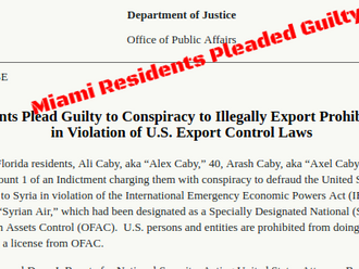 Miami Residents Pleaded Guilty