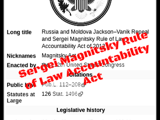 More Individuals designated to the Magnitsky Act