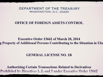 OFAC updated General License No. 1B