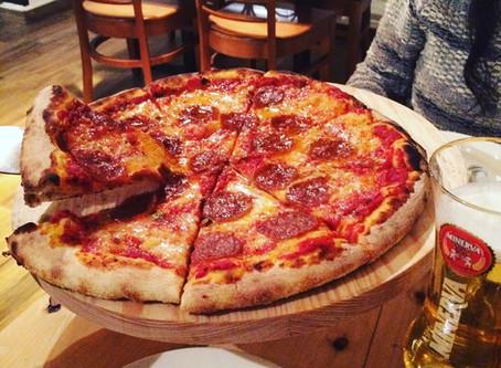 Pizza en la Narvarte