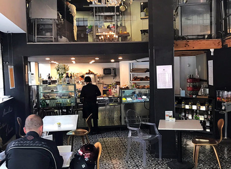 Desayunando en La Condesa