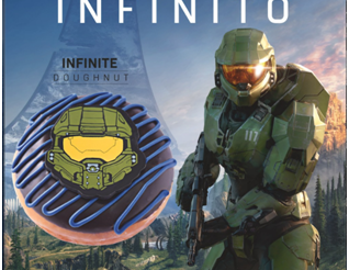 Xbox y Krispy Kreme festejan 20 años de Halo con UN ANTOJO INFINITO