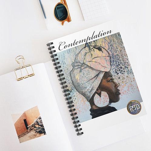 Contemplation Spiral Notebook - Ruled Line