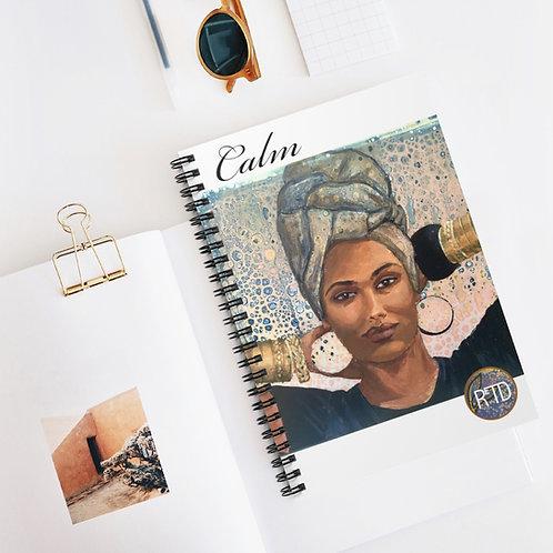 Calm Spiral Notebook - Ruled Line