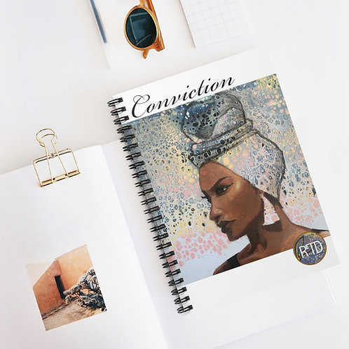 Conviction Spiral Notebook - Ruled Line