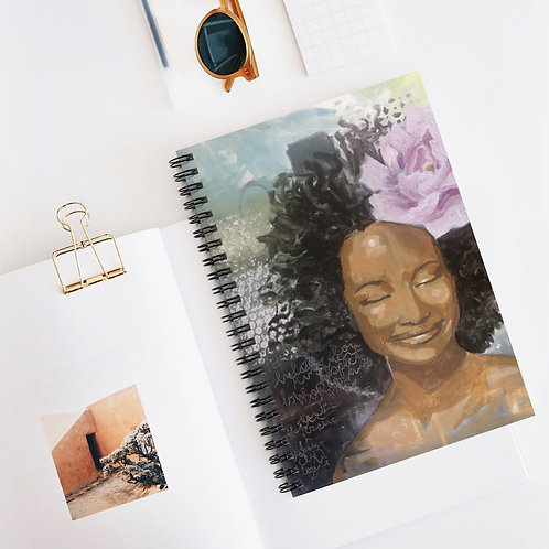 Serenity Spiral Notebook - Ruled Line