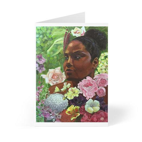 Cards (8 pcs) - Floral Diaspora