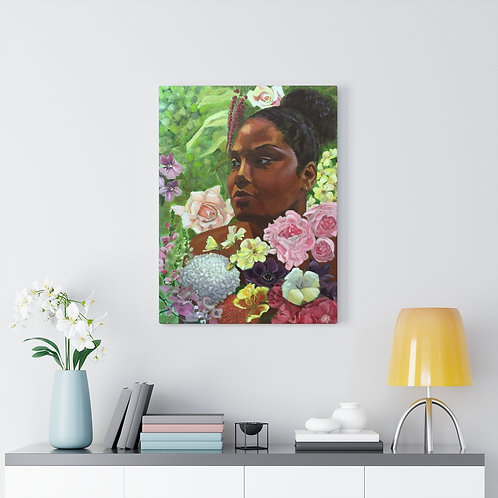 Canvas Print - Floral Diaspora
