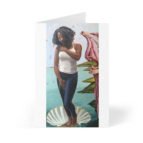 Cards (8 pcs) - Black Venus