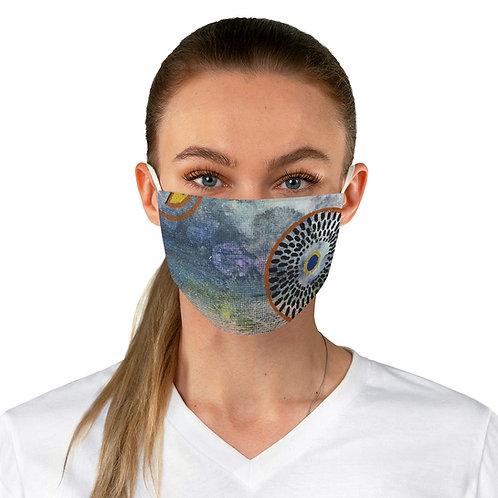 Fabric Face Mask Ankara Detail
