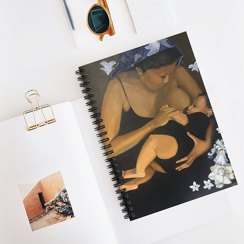 Yemaya Spiral Notebook - Ruled Line