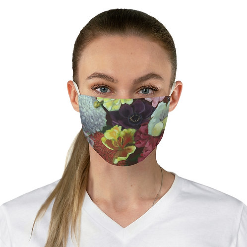 Fabric Face Mask Floral Print 1
