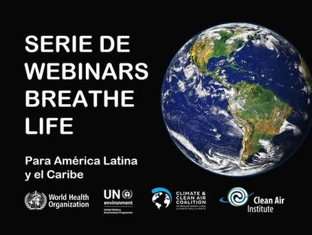 Breathe Life lanza serie de Webinars para América Latina