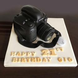 Camera Novelty Cake